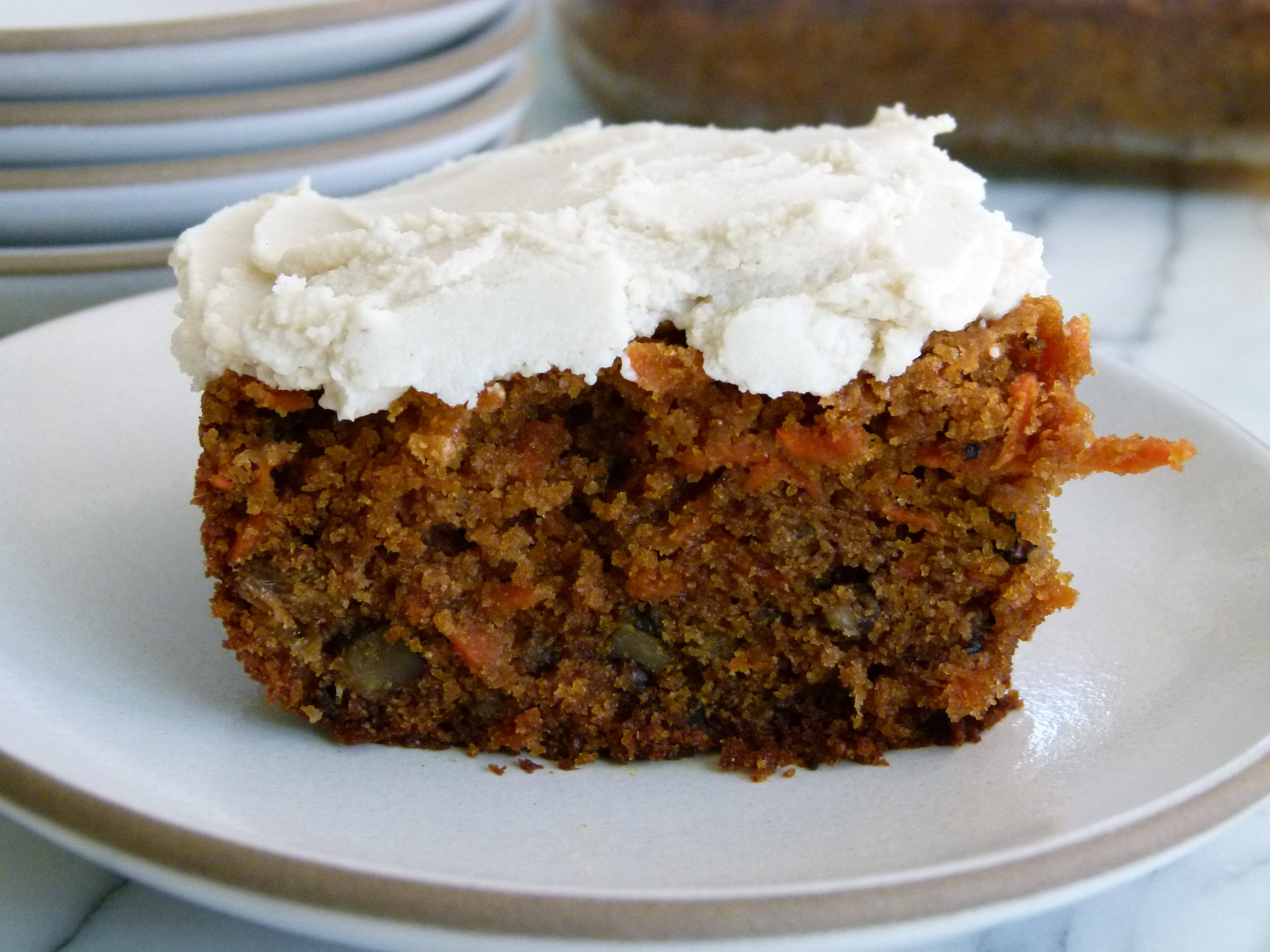 Carrot Cake With One Egg
