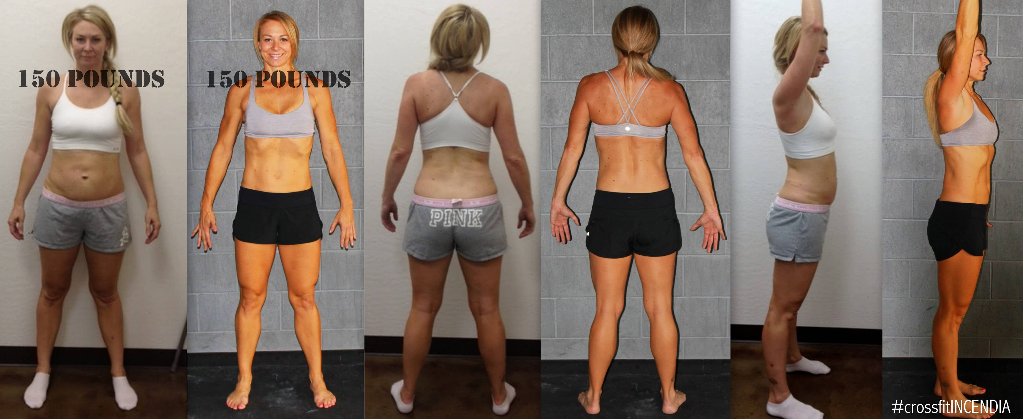 WHAT DOES 150 POUNDS LOOK LIKE? - CrossFit Incendia