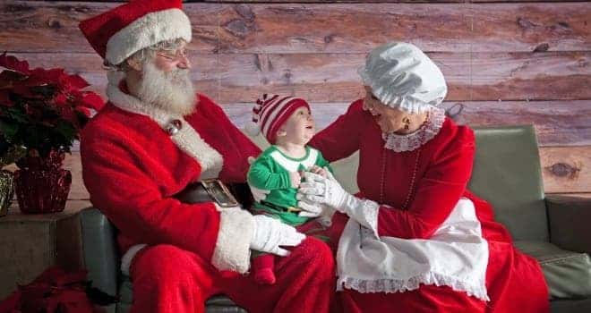 Pictures with Santa and Mrs. Claus: December 5th